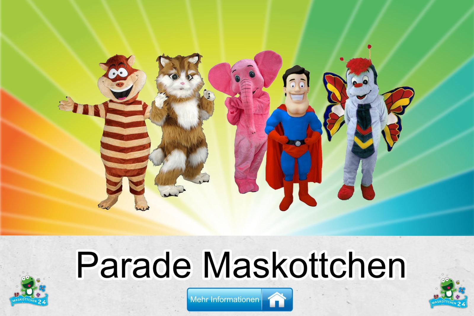 Parade Kostüme Maskottchen Herstellung Firma günstig kaufen