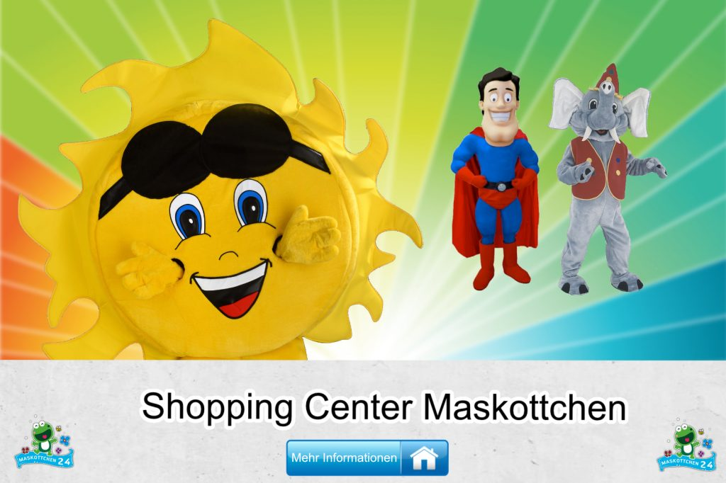 Shopping-Center-Kostueme-Maskottchen-Karneval-Produktion-Lauffiguren