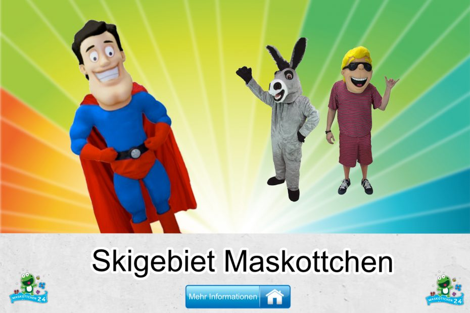 Skigebiet-Kostueme-Maskottchen-Karneval-Produktion-Firma-Bau