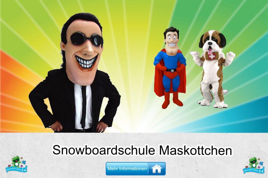 Snowboardschule-Kostueme-Maskottchen-Karneval-Produktion-Lauffiguren